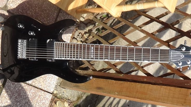 NEW Electric Guitar Left Handed Retail Price  ESP LTD H-208 Black Bargain Perfect for Metal by TheArtWorkShop37 on Etsy