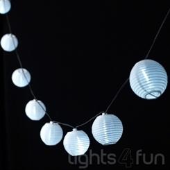 100 white led solar fairy lights solar powered - Solar Powered Lanterns