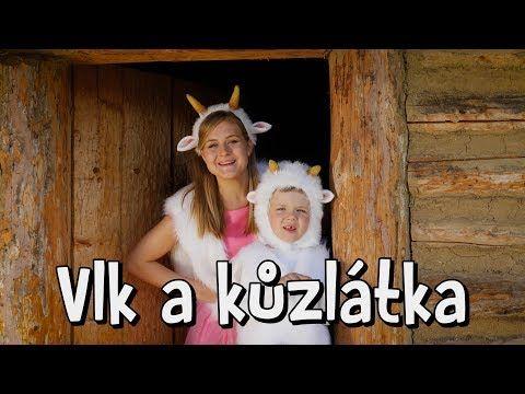Štístko a Poupěnka - Vlk a kůzlátka - YouTube
