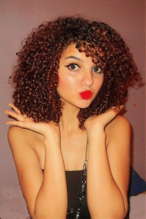 medium length tight curly hairstyles - Tight Curly Hairstyles Ideas – Curly Hairstyles Ideas