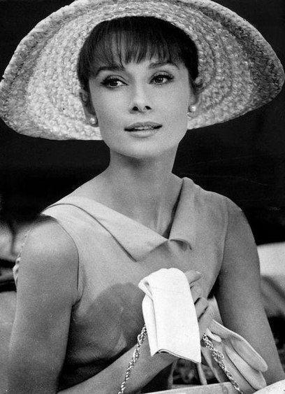 Audrey Hepburn, 1963, in a publicity photo for Charade viaanelegantspirit