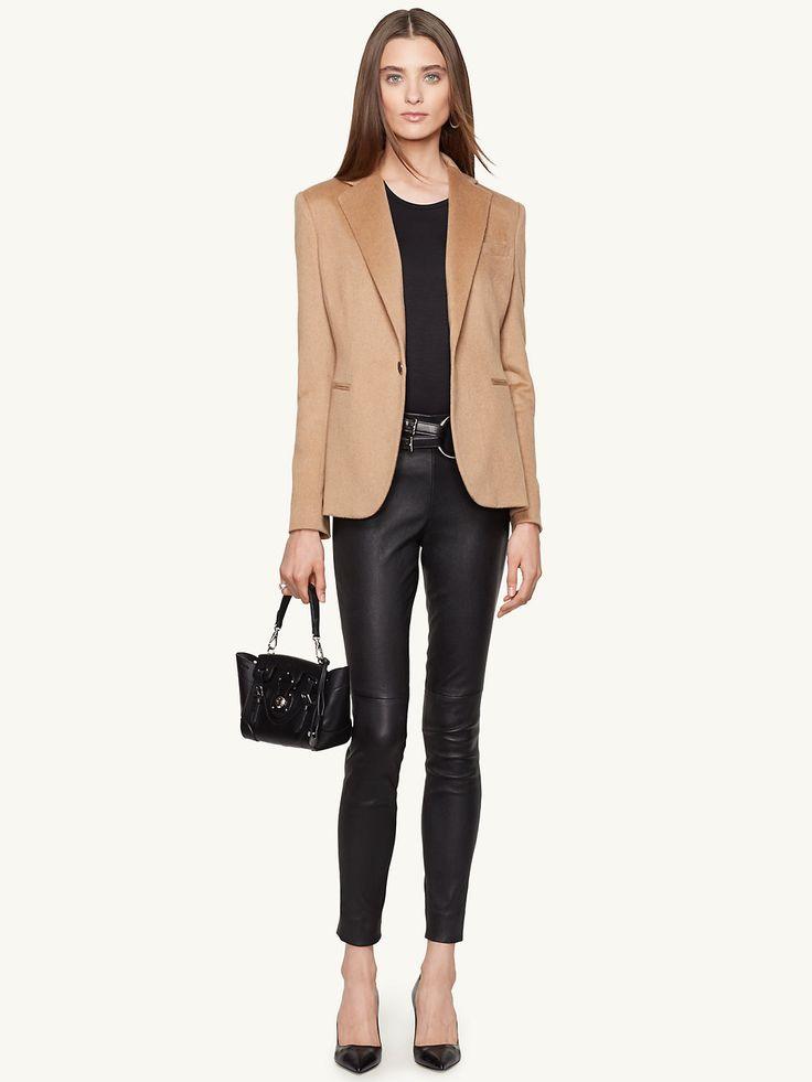 Camel-Hair Dabney Jacket - Jackets Women