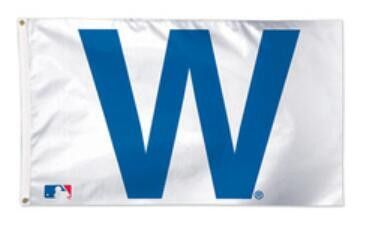 """Chicago Cubs """"W"""" Flag"""