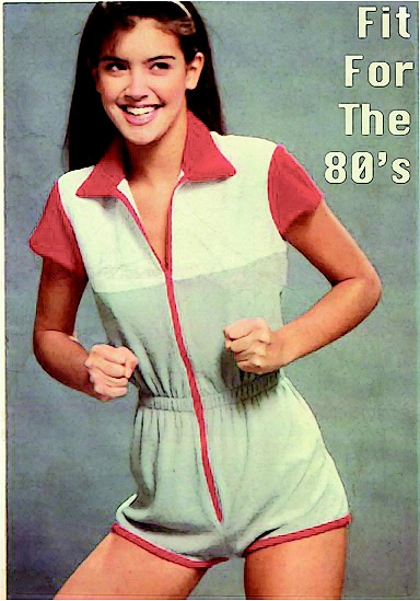 Fit for the 80's Phoebe Cates