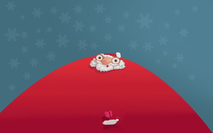 дед мороз, Санта клаус, борода, юмор, подарок, глаза