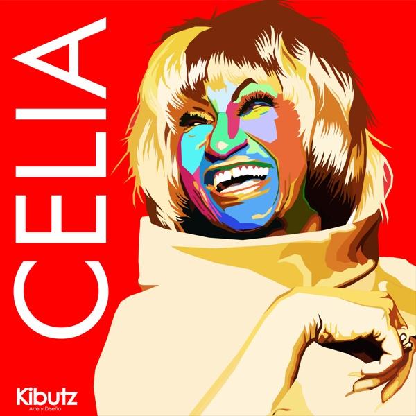 Celia Cruz by Santiago Mazuera, via Behance