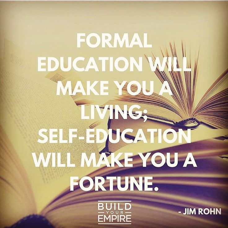 I'm always amazed how it's the top producers and high earners who invest the most time and money into reading and personal development education and coaching.  You'd think they are the ones that don't need it. But actually they all cite that as one of the primary reasons they are so successful.  You become what you read about!  Books are the best cheapest and fastest training there is. Go buy some!  What are some of your favorite personal development books? by rory_vaden