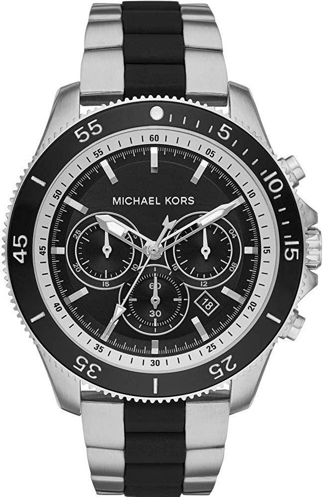Michael Kors Herren Chronograph Quarz Uhr Mit Edelstahl Armband Mk8664 Armbanduhr Herren Herrenmode Watch Herren Chronograph Uhren Herren Edelstahl Armband