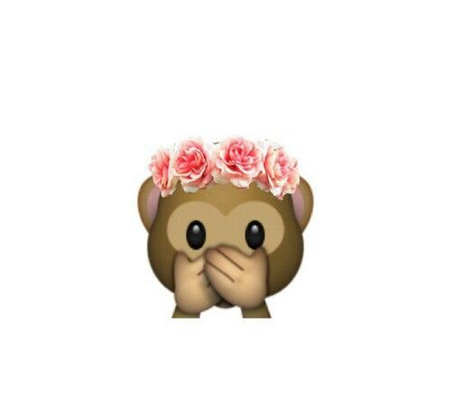 cute, emoji, flowers, girl, monkey, other - image #2411366 by ...