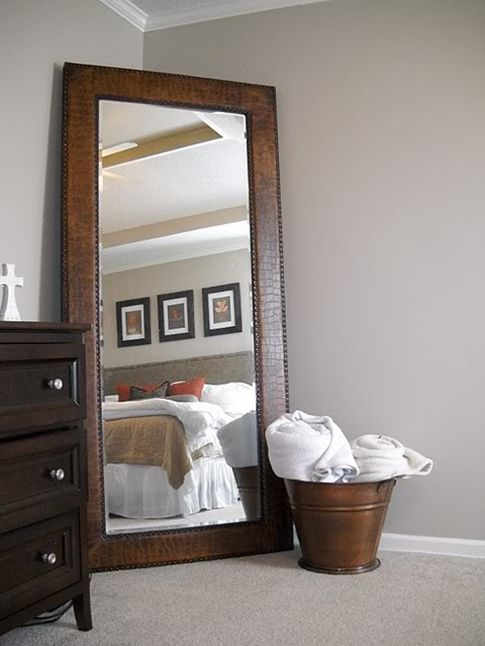 Elegant Large Mirror For Master Bedroom....I Have A Black One For Our