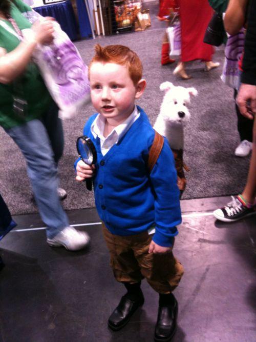 Mini Tintin na WonderCon 2012