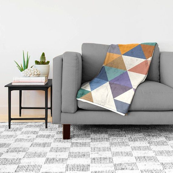 Great Extra Soft Throw Blanket With A Geometric Pattern. If You Want This Design  In A Pillow: Https://www.etsy.com/listing/221655827 If You Want This Design  In A ...