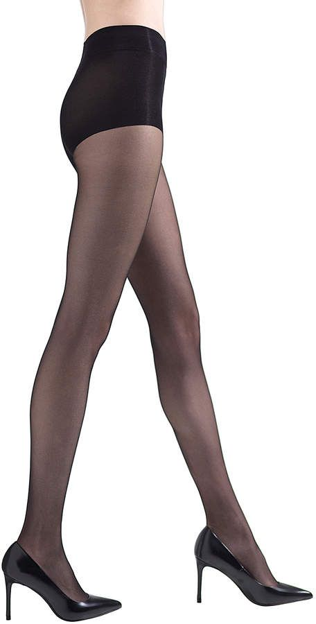 a169f05238301 Natori Black Shimmer Sheer Control-Top Pantyhose - Women #Shimmer#Sheer# Natori