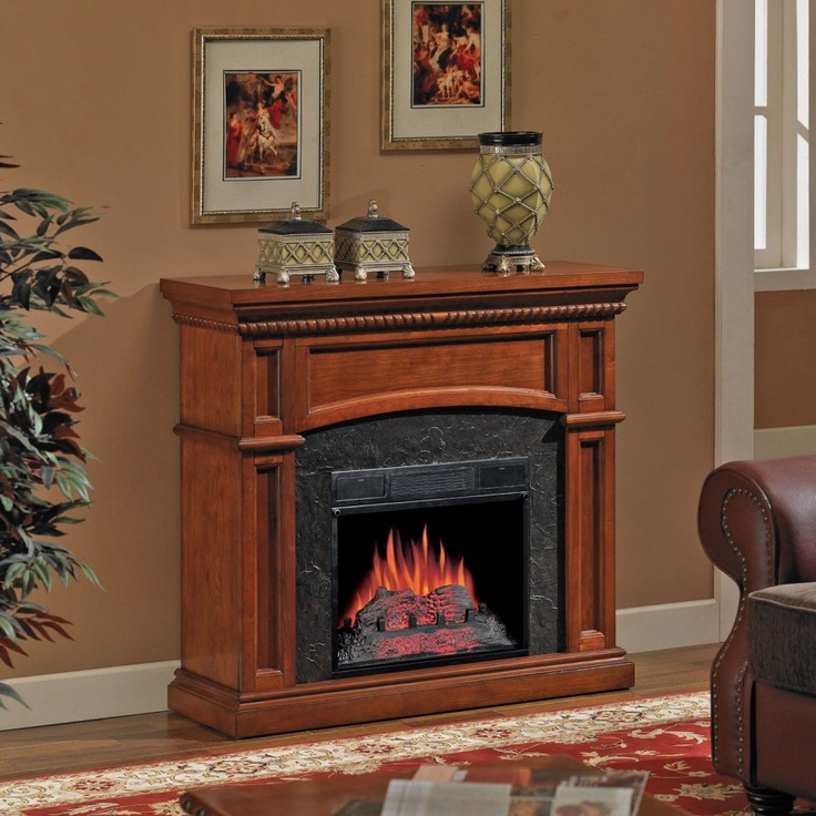 Classic Flame Nantucket 18 Wall Corner Electric Fireplace In New Golden Cherry 18dm1141ngc