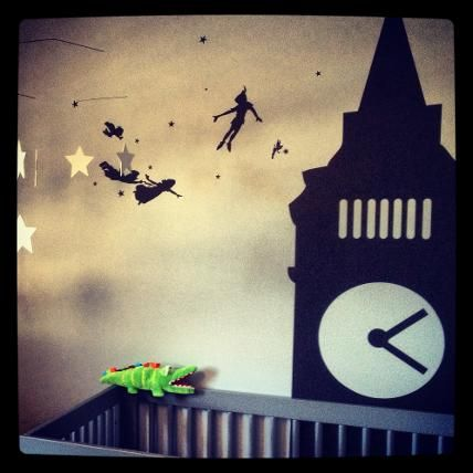 Peter Pan and his friends London