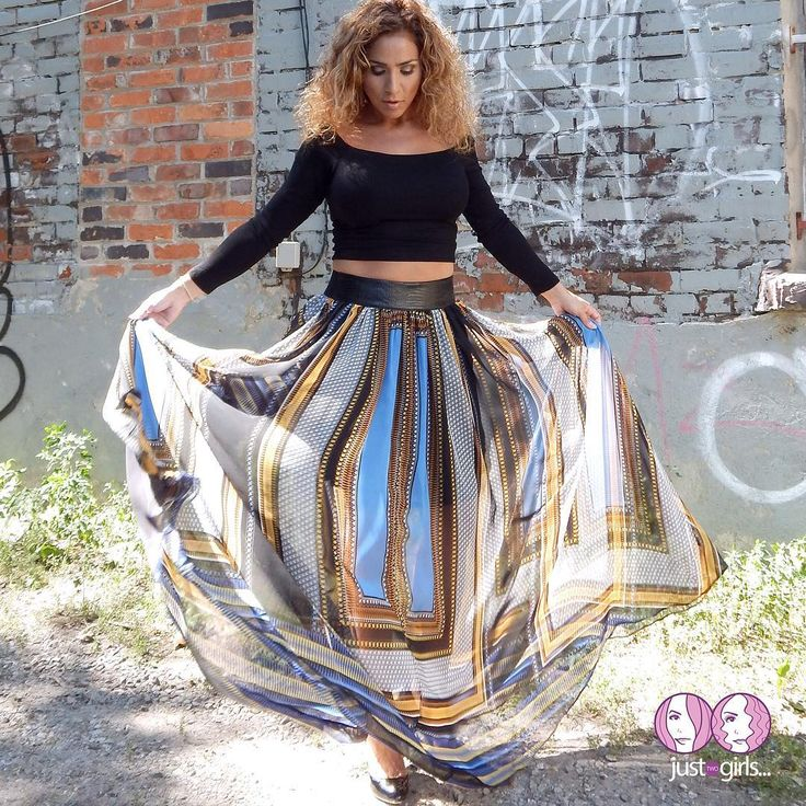 """""""SABBY"""" - Black Top - $53.00! """"ELLE"""" - Multi-colour Skirt- $87.00!  Absolutely Gorgeous!  More pics Online at:  www.justtwogirls.ca - -  #skirt #ootd #outfit #outfitoftheday #torontofashion #toronto #picoftheday #pic #blacktop #coldshoulder #onlineboutique #onlineshopping #onlineshop #onlinestore www.justtwogirls.ca"""