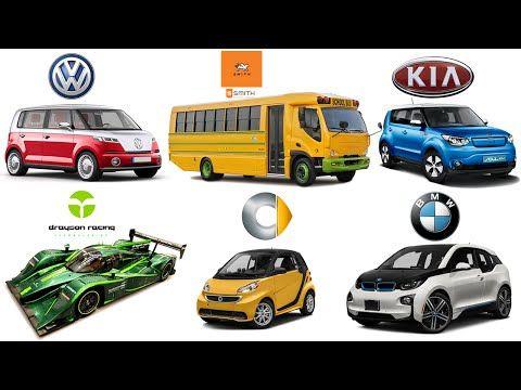 Марки машин для детей - все необходимое для занятий по ним
