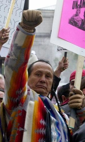 Russell Means, love this guy! We'll miss you, till we meet again on the other side