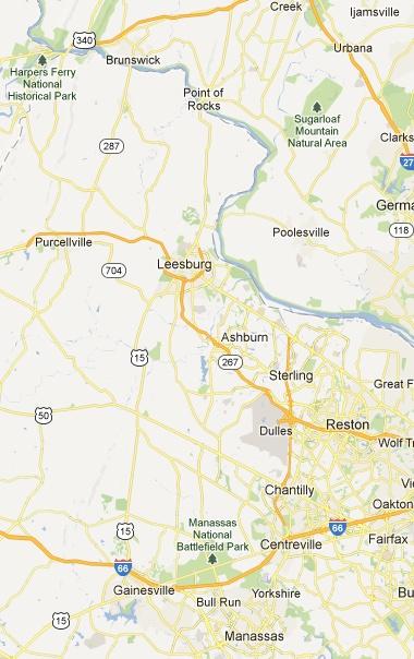 2013 ADA National Capital Tour de Cure Blue Ridge Rider's Choice Route (56 Mile Half Century Option) - A bike ride in Reston, Virginia
