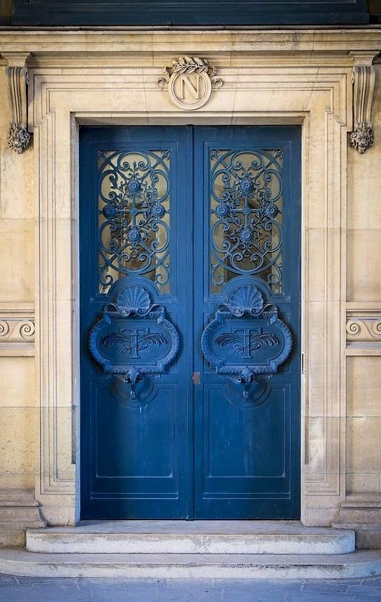 Louvre door, Paris.