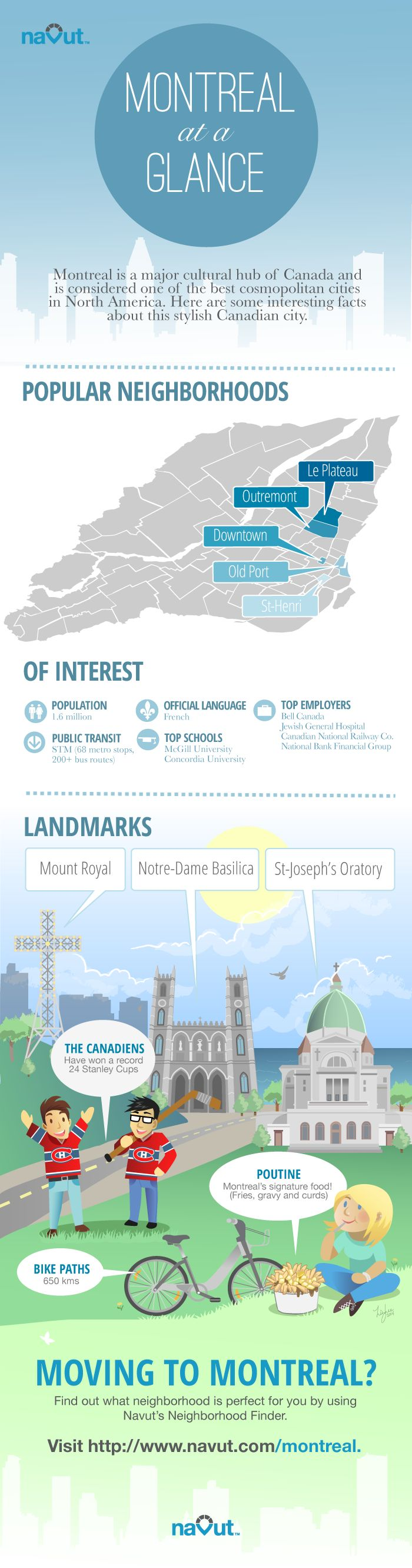 Montreal at a glance: an infographic overview of a cosmopolitan city | Navut Blog