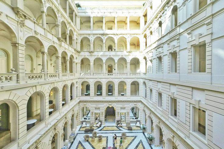 Grand hotel in #Budapest
