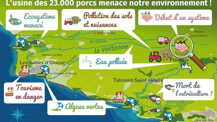 Engagez-vous pour stopper la construction d'une porcherie-usine à Poiroux (Vendée).