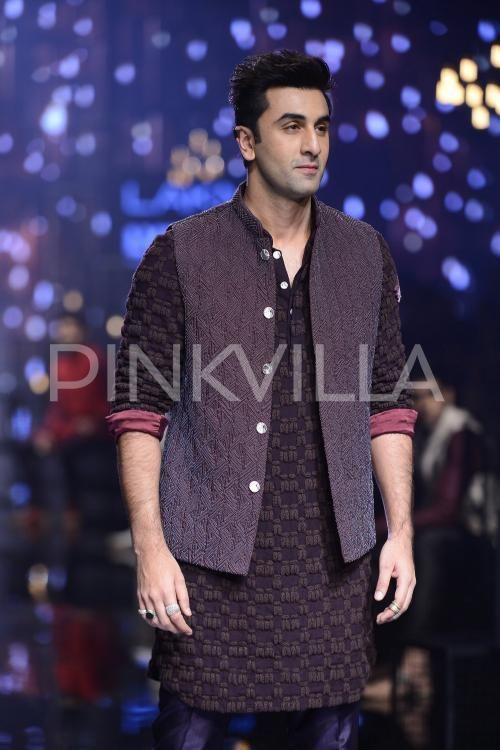 Ranbir Kapoor walked the ramp for one of his favorite designers Kunal Rawal at…