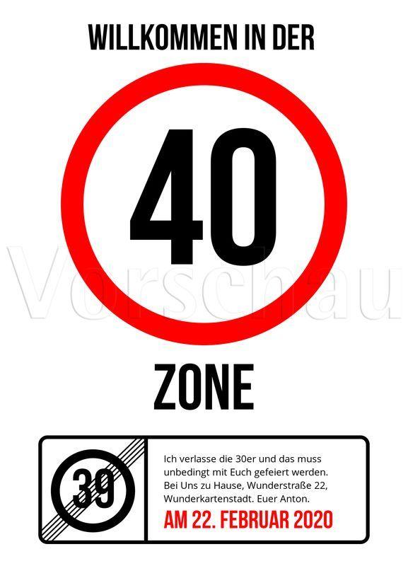 30er zone geburtstag