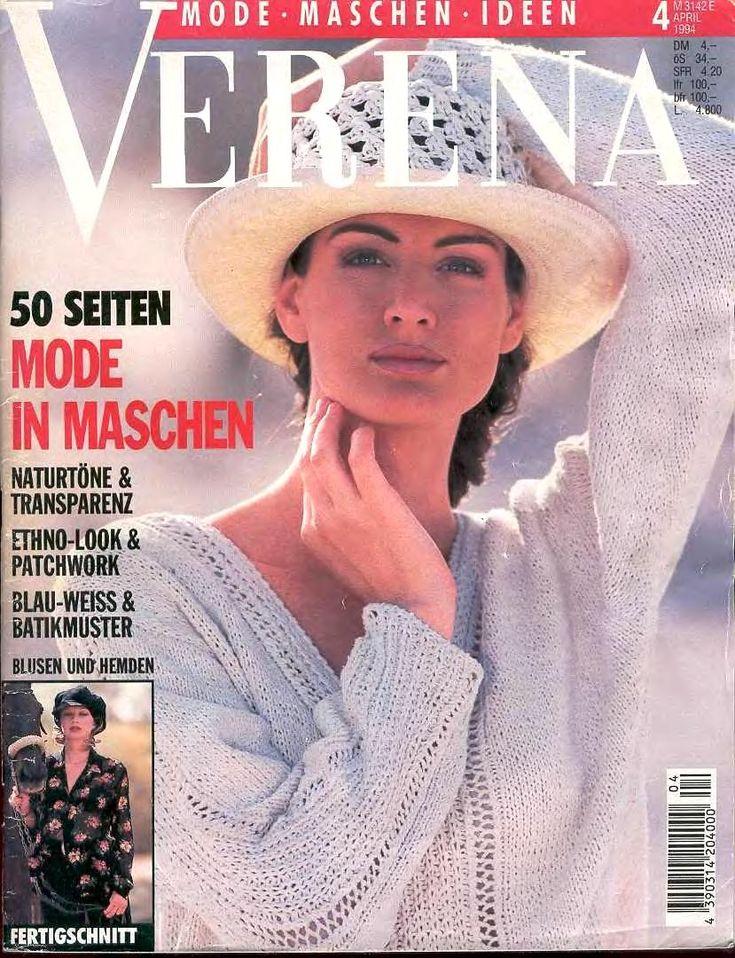 Журнал Verena № 4 1994 г. n+r - Страна Мам