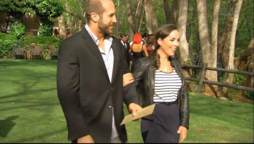 WWE Superstar Cesaro (Claudio Castagnoli) and his longtime girlfriend Sara Del Rey (Sara Amato), who is a trainer with WWE NXT #WWE #WWENXT #wwecouples #wwewags
