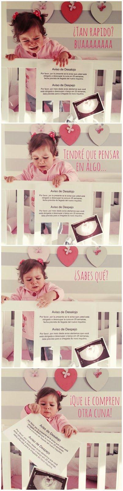 MamyPops: Notición: segundo bebé de camino/ Atenção, Atenção... pregnancy announcement second baby announcement / Segunda gravidez / Segundo embarazo
