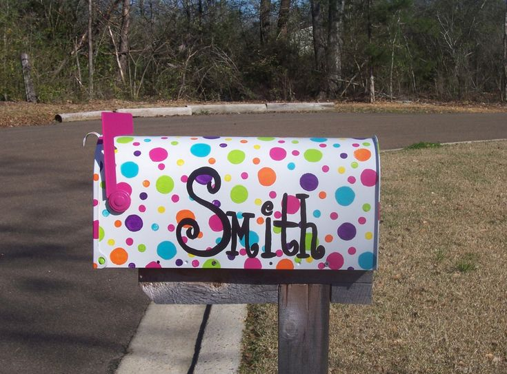 diy painted mailboxes - Hand Painted Mailboxes and Their Benefits ...