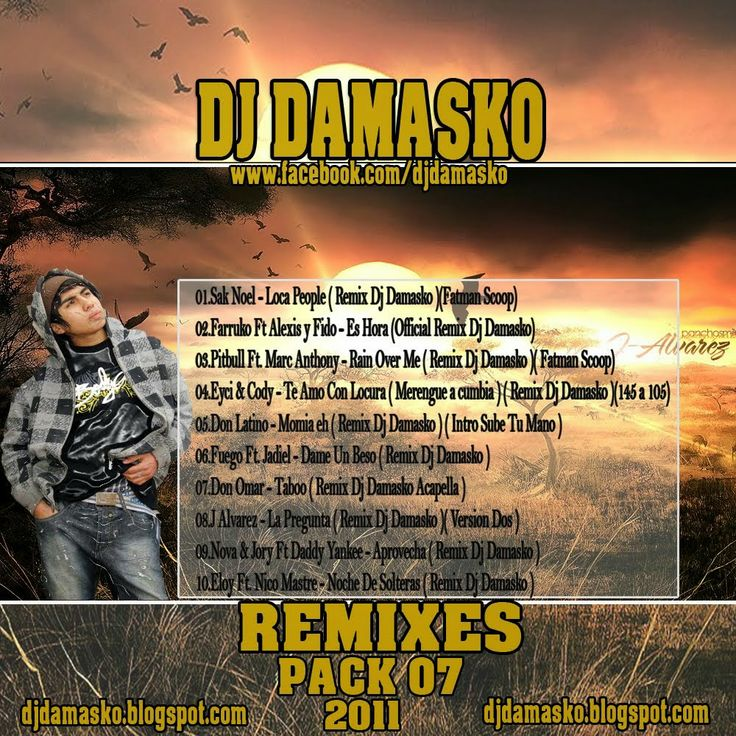 descargar pack remix 07 Dj Damasko | descargar pack de musica remix