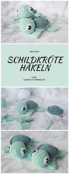 Amigurumi Häkelanleitung für eine Schildkröte - Anleitung von petitbonnet, getetstet von carosfummeley #häkeln #amigurumi #schildkröte