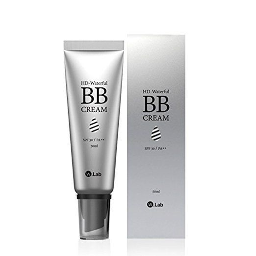 W.Lab HD Waterful BB Cream SPF30 Perfect Cover +Free gift Korean Beauty #WLab
