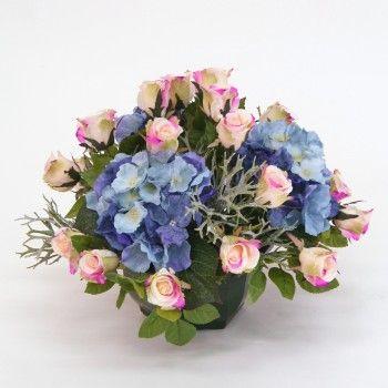 1000 images about compositions florales artificielles on pinterest coupe illusions and belle - Entretien et coupe des hortensias ...