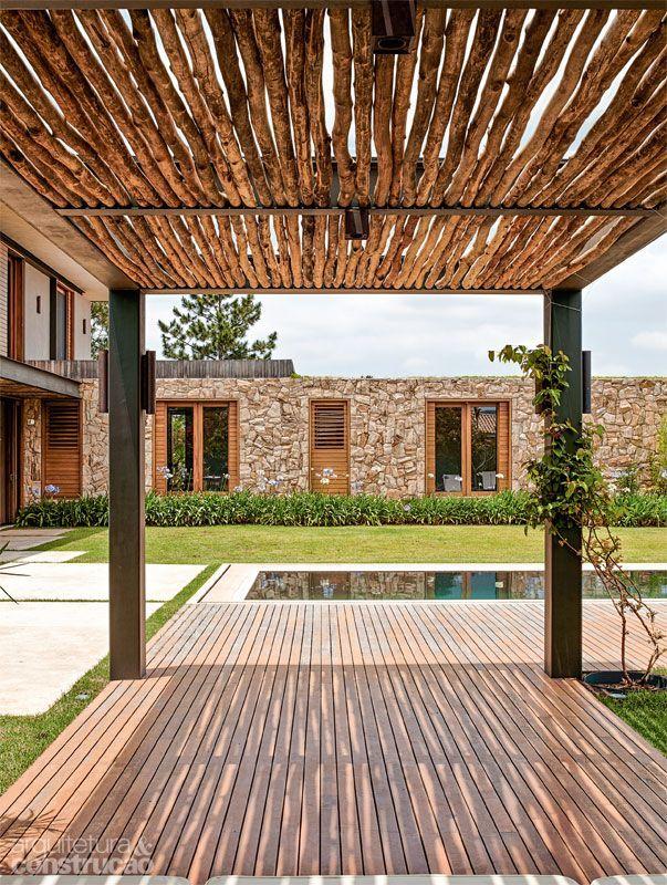 Inspiration : une terrasse simple et chaleureuse pour aménager votre extérieur #homesweethome