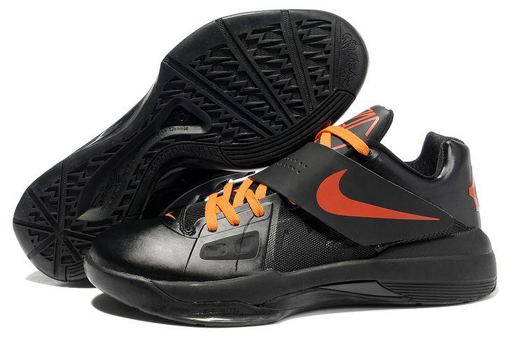 Nike Zoom KD IV X Black Team Orange 477677 002 Kevin Durant Shoes 2013