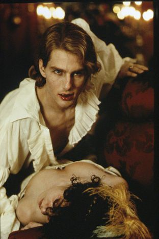 Tom Cruise  As Lestat de Lioncourt in 1994's Interview with the Vampire