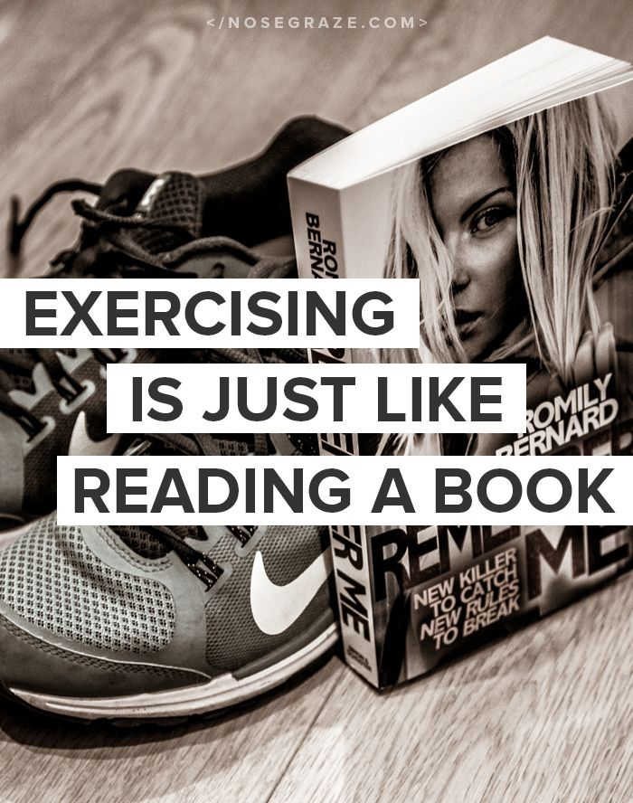 5 Ways That Reading a Book is Like Exercising