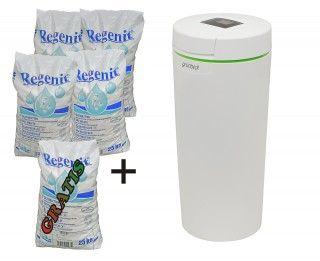 Paket Grünbeck Wasserenthärtungsanlage softliQ:SC23 plus 5 x 25 kg Regeneriersalz