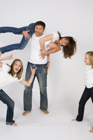 Such a cute family photo