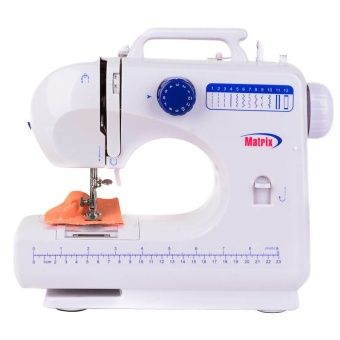 Buy Matrix MX-SW506 Portable Sewing Machine (White/Blue) online at Lazada. Discount prices and promotional sale on all. Free Shipping.