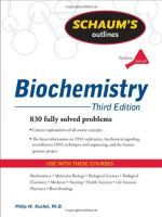 Schaum's Outline of Biochemistry, Third Edition (Kuchel et al., 2011) - http://www.proteinsynthesis.org/schaums-outline-biochemistry/