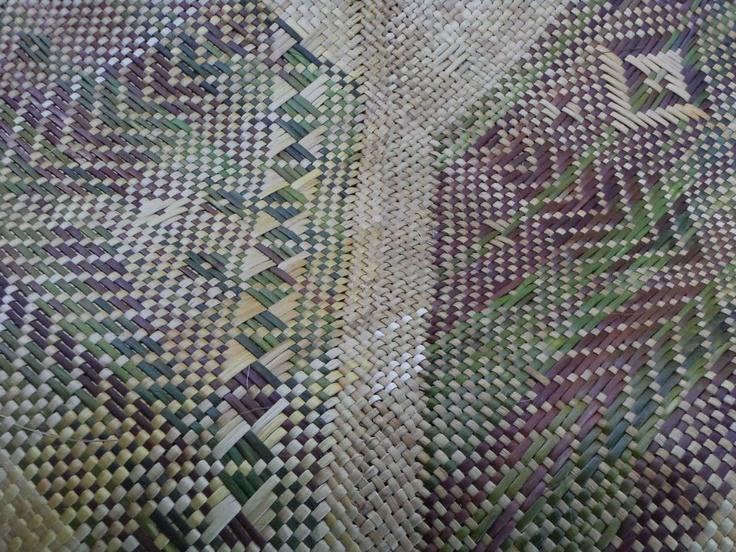 Alixene Curtis - whaariki (woven mat)
