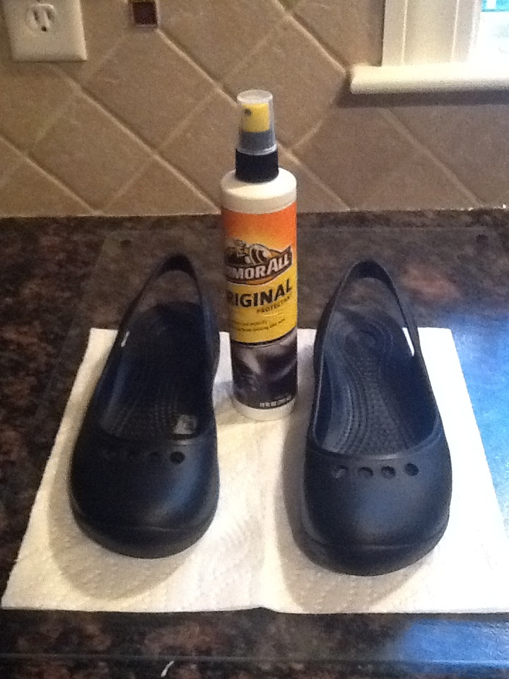 Make your Crocs look like new with Armor-all! | Cleaning ...