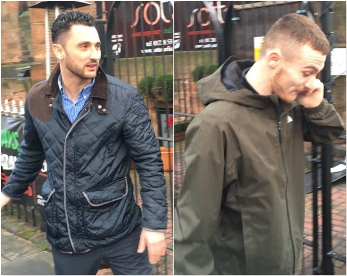 Men who stole £80k scaffolding and wagons from Workington spared prison https://www.cumbriacrack.com/wp-content/uploads/2018/01/Elijah-Boswell-and-Gary-McDonald-outside-Carlisle-Crown-Court.jpg TWO thieves who stole wagons and scaffolding worth up to £80,000 from a Workington yard have been spared immediate prison.    https://www.cumbriacrack.com/2018/01/03/men-stole-80k-scaffolding-wagons-workington-spared-prison/