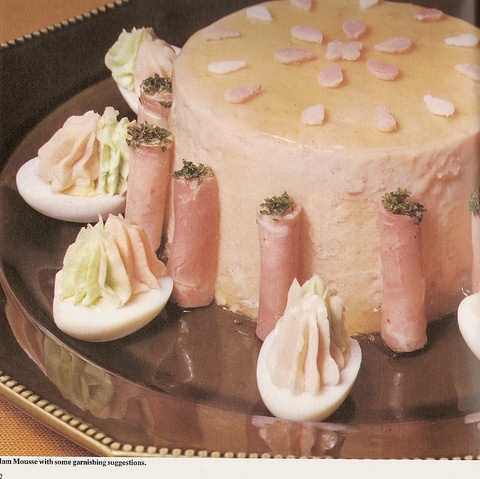 Ham Mousse Castle...another manifestation of the 20th century's fascination with horrifying gelatinous food.