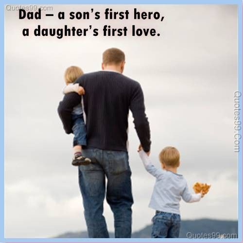 Father Love: Some Words Of Father's Day Wisdom...